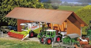 Модель небольшого навеса для техники фермера.Пр-во FALLER.Арт.130521.Масштаб НО (1:87).