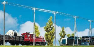 Модель телеграфных столбов.Пр-во FALLER.Арт.130955.Масштаб НО (1:87).