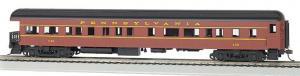 Модель 4-х осного пассажирского вагона,с открытой площадкой.Пр-во BACHMANN USA.Арт.13802.Масштаб НО (1:87).