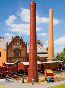 Модель трубы от промышленной котельной.Пр-во FALLER.Арт.131271.Масштаб НО (1:87).