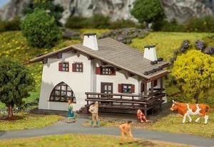 Модель дома в горах.Пр-во FALLER.Арт.131307.Масштаб НО (1:87).