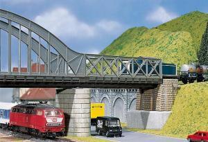 Модель прямой части моста длиной 180мм.Пр-во FALLER.Арт.120534.Масштаб НО (1:87).
