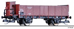Модель 2-х осного полувагона для перевозки угля с тормозной будкой.Пр-во TILLIG.Арт.14286.Масштаб ТТ (1:120).
