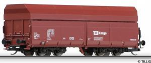 Модель 4-х осного саморазгружающегося вагона.Пр-во TILLIG.Арт.15298.Масштаб ТТ (1:120).