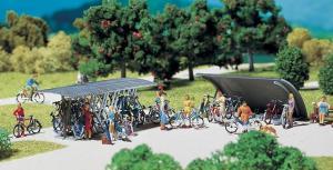 Модель-набор паркинга для велосипедов.Пр-во FALLER.Арт.180584.Масштаб НО (1:87).