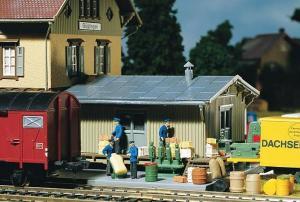 Модели различных товаров для склада.Пр-во FALLER.Арт.180588.Масштаб НО (1:87).