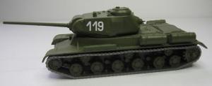 Модель танка IS-1 (№119-могут быть и др.номера)-готовая модель.Пр-во Z@Z.Арт.87094_1.Масштаб 1:87 (НО).