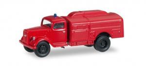 Модель Opel Blitz Feuerwehrfahrzeug,вариант пожарный.Пр-во Minitanks.Арт.745192.Масштаб НО (1:87).