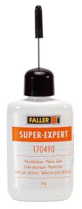 Набор клей Super-Expert, Plastikkleber,об.25гр.Пр-во FALLER.Арт.170490.Масштаб НО (1:87).