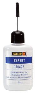 Набор клей Expert, Plastikkleber,об.25гр.Пр-во FALLER.Арт.170492.Масштаб НО (1:87).
