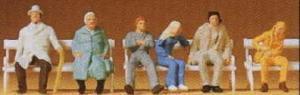 Сет сидящие путешественники.Фирма PREISER.Арт.14004.Масштаб НО (1:87).