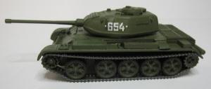 Модель танка Т-44М ( №654 ) готовая модель.Пр-во Z@Z.Арт.Масштаб 1:87 (НО).