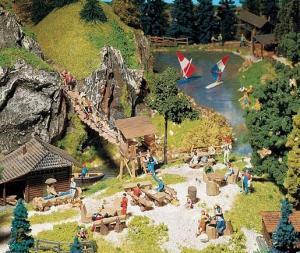 Модель-набор поляны для отдыха на природе.Пр-во FALLER.Арт.180573.Масштаб НО (1:87).
