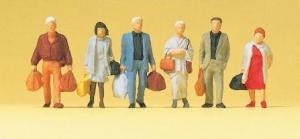 Сет идущих путешественников.Фирма PREISER 14070.Масштаб НО (1:87).
