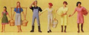 Сет работники фермы.Фирма PREISER 14083.Масштаб НО (1:87).
