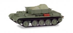 Модель танка Т-54 (вариант для подвоза разл.материалов).Пр-во MINITANKS.Арт.745901.Масштаб 1:87 (НО).