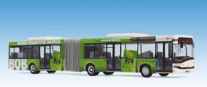 Модель автобуса Solaris U 18 der BSAG mit der Ganzwerbung