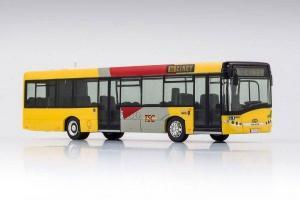 Модель автобуса Solaris U 12, TEC, Belgien, Bus Roquette.Пр-во VK-Modelle.Арт.19405.Масштаб НО (1:87).