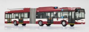 Модель троллейбуса Solaris Trollino 18 der Salzburger Lokalbahn (SLB), Abteilung Obus.Пр-во VK-Modelle.Арт.11336.Масштаб НО (1:87).