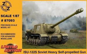 Модель танка ИСУ-122С-для самостоятельной сборки.Пр-во Z@Z.Арт.87093.Масштаб 1:87 (НО).