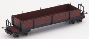 Модель вагона платформы бортовой.Пр-во MINITRAINS.Арт.5145.Масштаб НОе (1:87).
