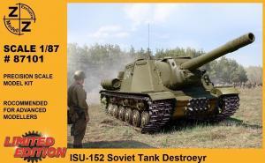 Модель танка ИСУ-152-для самостоятельной сборки.Пр-во Z@Z.Арт.87101.Масштаб 1:87 (НО).