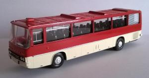 Модель автобуса IKARUS серии 250.12.Пр-во Z@Z.Масштаб НО (1:87).