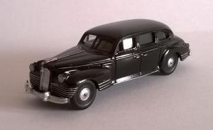 Модель ЗИС-110-цвет черный-готовая модель.Пр-во Z@Z.Масштаб 1:87 (НО).