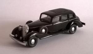 Модель Mercedes Benz 770 1938года-цвет черный-готовая модель.Пр-во Z@Z.Масштаб 1:87 (НО).
