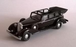 Модель Mercedes Benz 770 1938года кабриолет-цвет черный-готовая модель.Пр-во Z@Z.Масштаб 1:87 (НО).