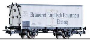 Модель 2-х осного крытого вагона-холодильника.Пр-во TILLIG.Арт.76656.Масштаб НО (1:87).