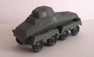 Модель немецкого тяжелого бронеавтомобиля.Пр-во AMA.Арт.467.Масштаб НО (1:87).