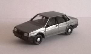 Модель ВАЗ-21099-металлик.Масштаб 1:87 (НО).