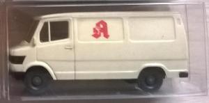Модель микроавтобуса MB 207 D.Пр-во WIKING.Масштаб НО (1:87).
