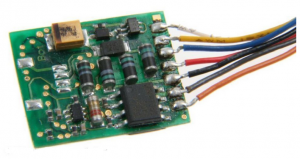 Модель декодера цифрового 8-пинового (NEM 652).Пр-ва Uhlenbrock.Арт.76320.Масштаб НО (1:87).