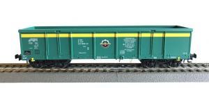 Модель 4-х осного полувагона для перевозки угля.Пр-во RIVAROSSI.Арт.HRS6440.Масштаб НО (1:87).