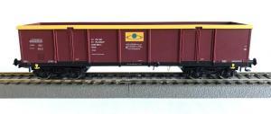 Модель 4-х осного полувагона для перевозки угля.Пр-во RIVAROSSI.Арт.HRS6444.Масштаб НО (1:87).
