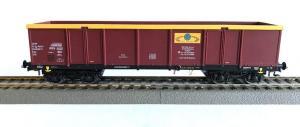 Модель 4-х осного полувагона для перевозки угля.Пр-во RIVAROSSI.Арт.HRS6446.Масштаб НО (1:87).