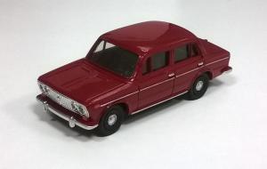 Модель ВАЗ-2103-готовая модель (цвет малиновый).Пр-во Z@Z.Масштаб 1:87 (НО).