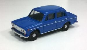 Модель ВАЗ-2103-готовая модель (цвет голубой).Пр-во Z@Z.Масштаб 1:87 (НО).